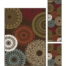 Majesty 3 Pieces Area Rug Set