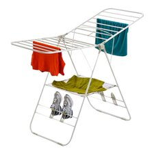 Heavy Duty Gullwing Drying Rack in White
