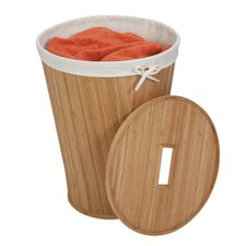 Bamboo Hamper with Lid