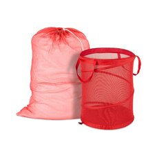 Mesh Laundry Bag and Hamper Kit