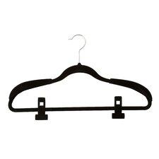 36 Piece Velvet Touch Wardrobe Non-Slip Hanger Kit Set