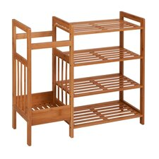 Entryway 4-Tier Shoe Rack