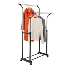 Double Flared Garment Rack