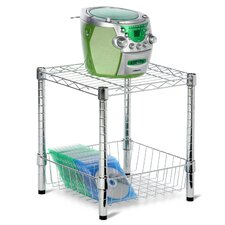 Urban Table with Storage Basket