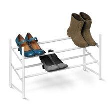 Expandable 2-Tier Shoe Rack