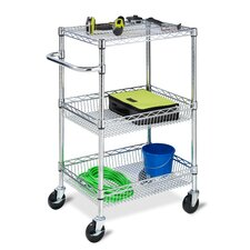 Three Tier HD Urban Utility Cart