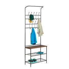 Entryway Storage Valet Stand