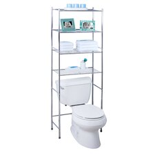"24.02"" x 67.72"" Free Standing Over the Toilet"