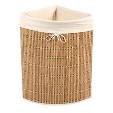 Wicker Corner Hamper