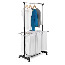 Laundry Center with Adjustable Height in Chrome