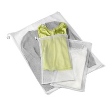 3 Piece Mesh Wash Bag Set (Set of 2)