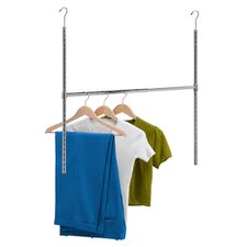 Adjustable Hanging Closet Rod