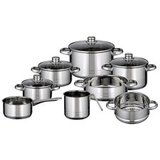 Skyline 8-Piece Stainless Steel Cookware Set