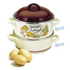 1,8 L Kartoffeldämpfer mit Deckel