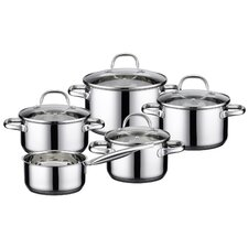 Kallisto 5-Piece Stainless Steel Cookware Set