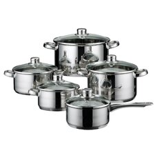Skyline 5-Piece Stainless Steel Cookware Set