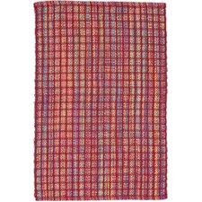 Hand Woven Red Indoor/Outdoor Area Rug