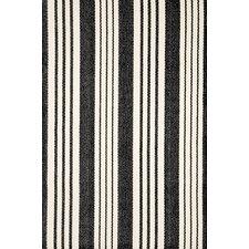 Birmingham Black/White Indoor/Outdoor Area Rug