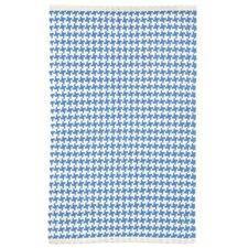 Checks French Blue/White Area Rug