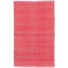 C3 Herringbone Red Indoor/Outdoor Area Rug