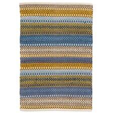 Gypsy Blue/Yellow Area Rug