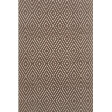 Diamond Charcoal & Taupe Indoor/Outdoor Area Rug