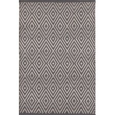 Diamond Graphite & Ivory Indoor/Outdoor Area Rug