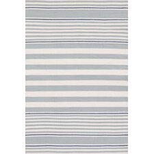 Indoor/Outdoor Beckham Blue Striped Outdoor Area Rug