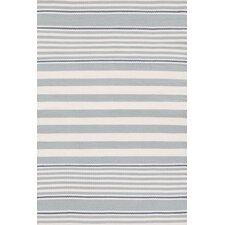Indoor/Outdoor Blue/White Outdoor Area Rug