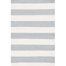 Indoor/Outdoor Blue/White Area Rug