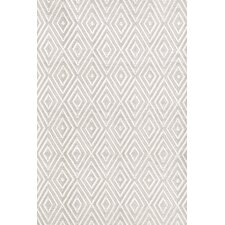 Indoor/Outdoor Handwoven White/Taupe Area Rug