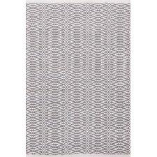 Fair Isle Hand Woven Grey Area Rug
