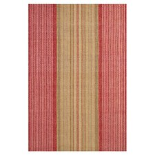 Hand Woven Red Area Rug
