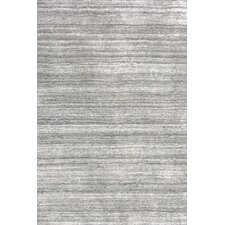 Icelandia Knotted Grey Area Rug