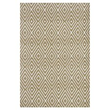 Hand Woven Beige Indoor/Outdoor Area Rug