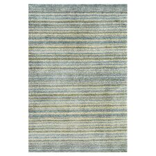 Brindle Stripe Sea Blue Area Rug