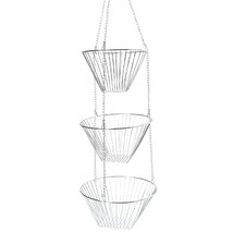 3 Piece Hanging Fruit Basket Set