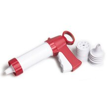 25 Piece Plastic Cookie and Icing Gun Set