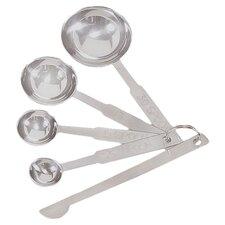 4 Piece Deluxe Measuring Spoon Set