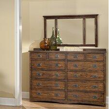Oakhurst 12 Drawer Dresser with Mirror
