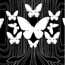 California 16' x 23.5'' Butterflies Wallpaper