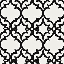 Handcrafted Painted Gate 16' x 23.5'' Trellis Wallpaper
