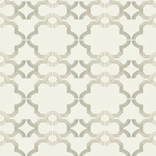 Handcrafted Acorn Gate 16' x 23.5'' Trellis Wallpaper