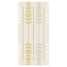 Handcrafted Ferns 16' x 23.5'' Floral And Botanical Wallpaper