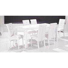 Monroe 90 cm Dining Table and 6 Chairs