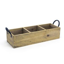 Rustic Wood Holder (Set of 2)