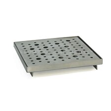 Stainless Steel Square Serving Tray (Set of 2)