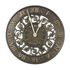 "Ivy Silhouette 12"" Clock"