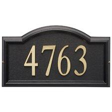 Design-it Arch Address Plaque