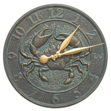 """16"""" Crab Sealife Clock"""